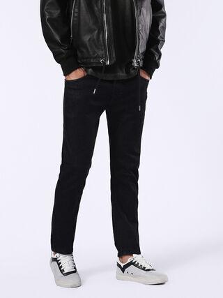 THAVAR 0607A, Black Jeans