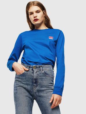 T-DIEGO-DIV-LS, Brilliant Blue - T-Shirts
