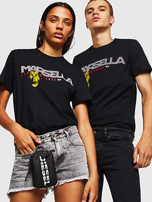 LCP-T-DIEGO-MARSELLA, Black - T-Shirts