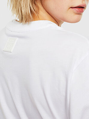 T-HUSTY-LS, White - T-Shirts