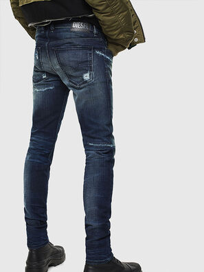 Sleenker 0097P, Dark Blue - Jeans
