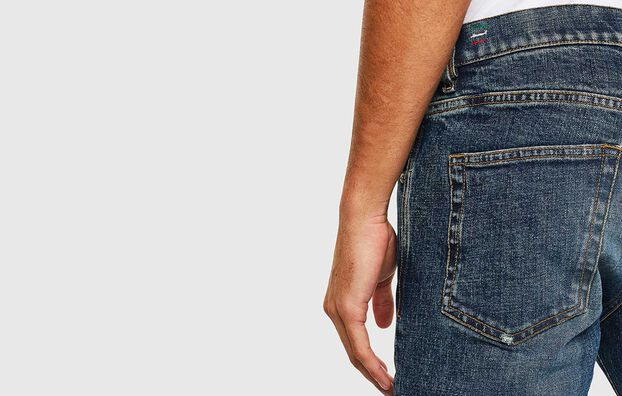 D-Strukt 009AR, Medium blue - Jeans