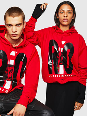 LCP-S-ALBY-RIO, Red - Sweaters
