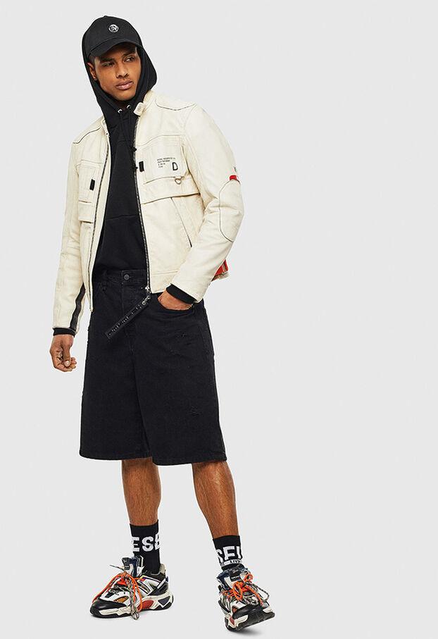 L-DIXON, White - Leather jackets