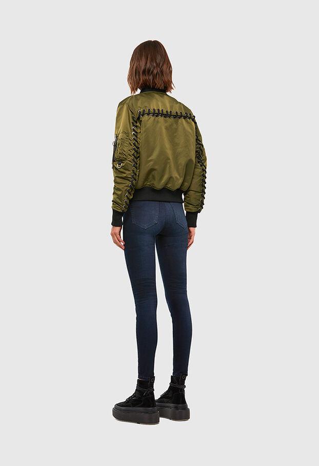 W-SWING, Military Green - Winter Jackets