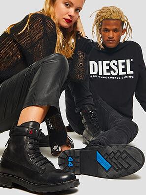 D-THROUPER DBB W Z, Black - Ankle Boots