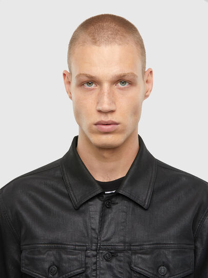 Diesel - NHILL-TW, Black - Denim Jackets - Image 3