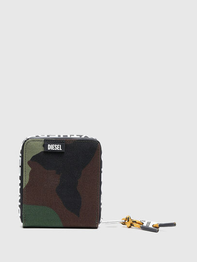 Diesel - HIRESH XS ZIPPI, Multicolor/Brown - Zip-Round Wallets - Image 1