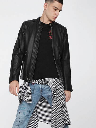 Diesel - L-QUAD,  - Leather jackets - Image 1