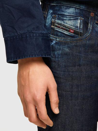 Diesel - D-Strukt 09A20, Dark Blue - Jeans - Image 4