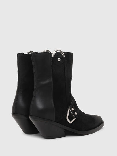 Diesel - D-GIUDECCA MAR, Black - Ankle Boots - Image 3