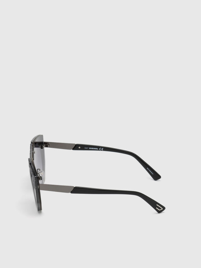 Diesel - DL0258, Grey - Eyewear - Image 2