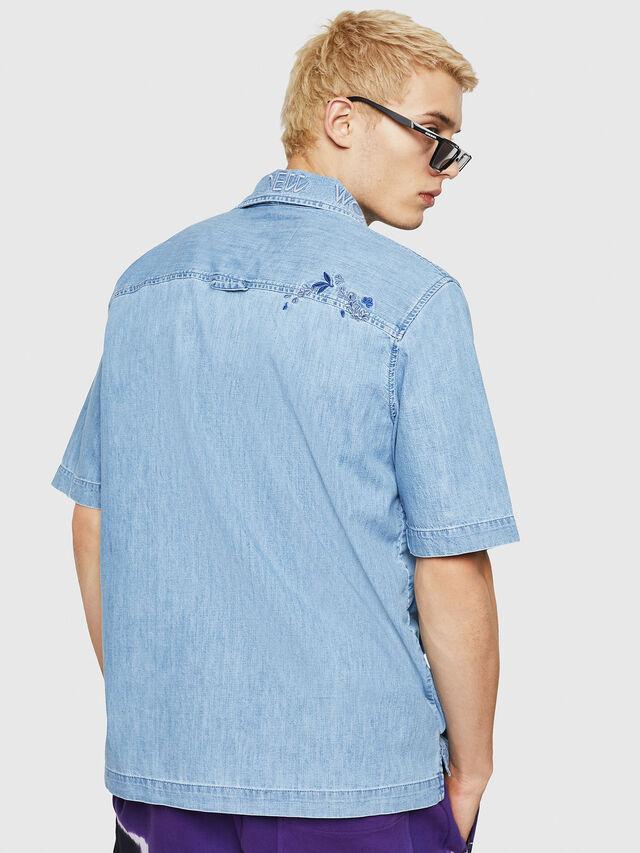 Diesel - D-RASHI, Blue Jeans - Denim Shirts - Image 2