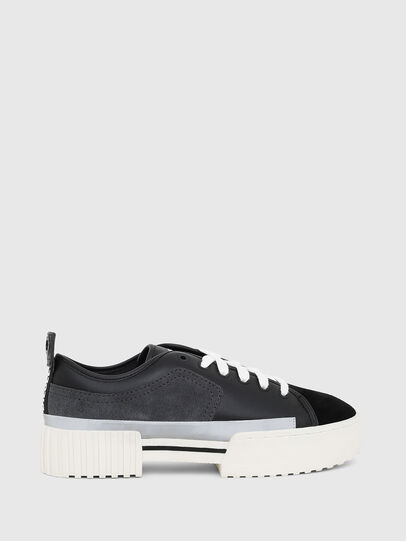 Diesel - S-MERLEY LOW, Black - Sneakers - Image 1