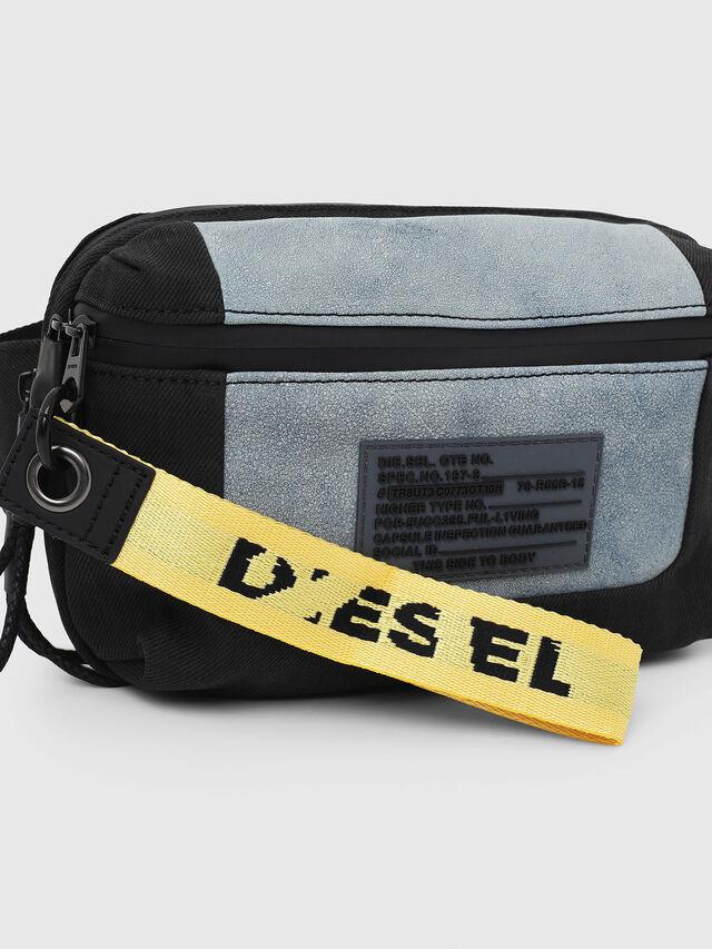 Diesel - L-TOLLE BELTBAG, Blue - Crossbody Bags - Image 4