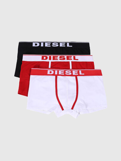 Diesel - UMBX-DAMIENTHREEPACK, White/Red - Trunks - Image 1