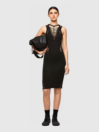 Diesel - D-BRAIDEN, Black - Dresses - Image 5