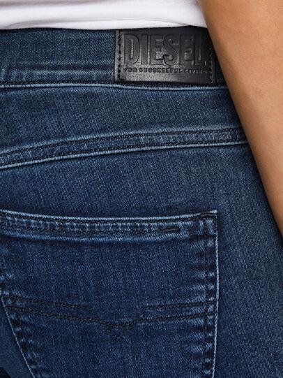 Diesel - Sandy 009QI, Dark Blue - Jeans - Image 4