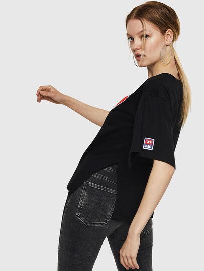 Diesel - T-JACKY-I, Black - T-Shirts - Image 4