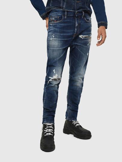 Diesel - D-Vider 0090G, Dark Blue - Jeans - Image 1