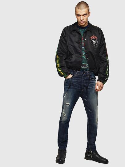Diesel - D-Eetar 0890W, Dark Blue - Jeans - Image 7