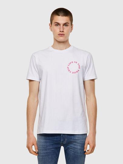 Diesel - T-DIEGOS-B7, White - T-Shirts - Image 1