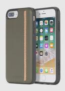 ZIP OLIVE LEATHER IPHONE 8 PLUS/7 PLUS/6s PLUS/6 PLUS CASE, Olive Green - Cases