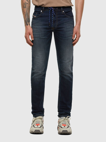 Diesel - Thommer JoggJeans® 069NE, Dark Blue - Jeans - Image 1