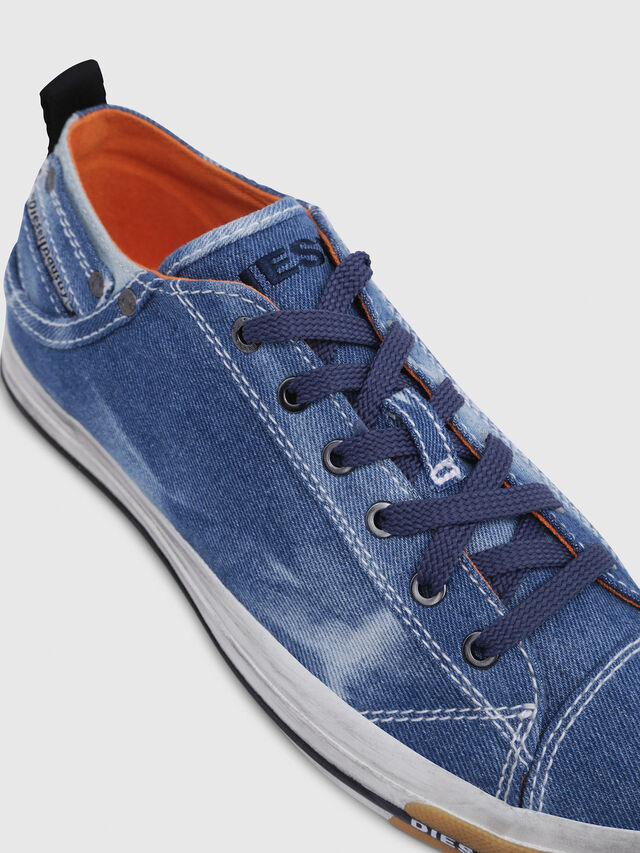 Diesel - EXPOSURE LOW I, Blue Jeans - Sneakers - Image 4