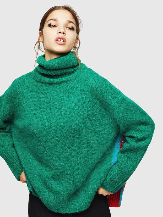 M-PERSIA, Green/Red - Knitwear