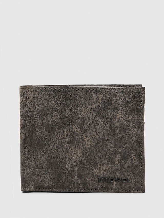 Diesel - HIRESH S, Green/Grey - Small Wallets - Image 1