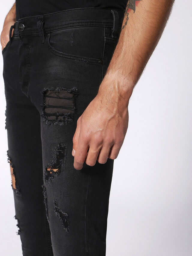 TEPPHAR 084PP, Black Jeans