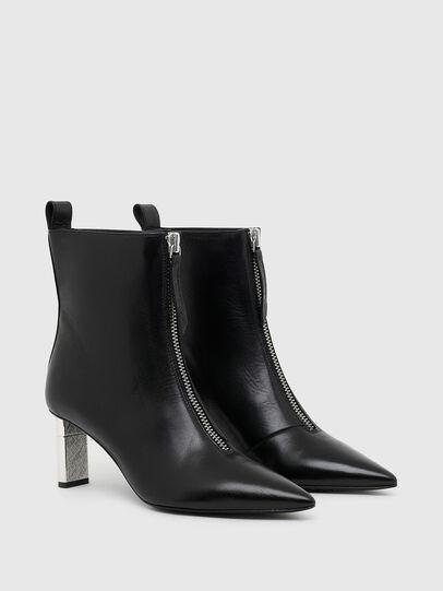 Diesel - D-LEZIPPO MAB, Black/Silver - Ankle Boots - Image 2