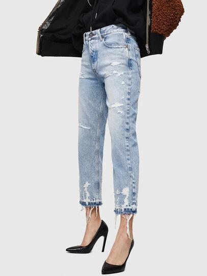 Diesel - Aryel 0078L, Light Blue - Jeans - Image 3