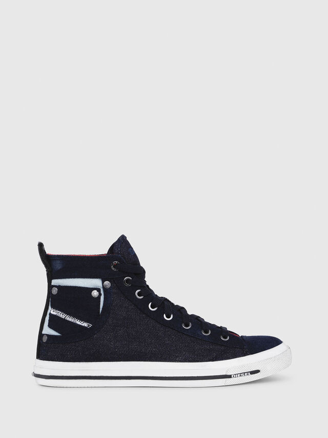 Diesel - EXPOSURE IV W, Dark Blue - Sneakers - Image 1