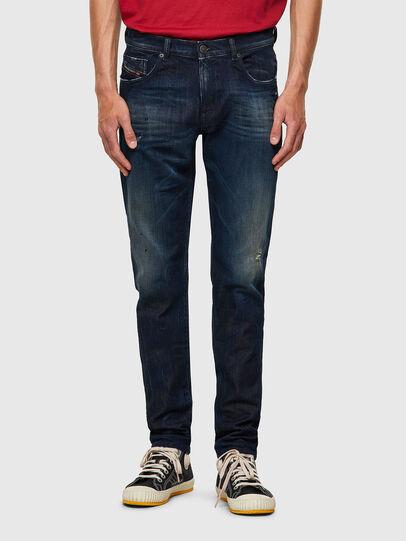 Diesel - D-Strukt JoggJeans® 09B50, Dark Blue - Jeans - Image 1