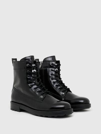 Diesel - D-THROUPER DBB ZC, Black - Boots - Image 2