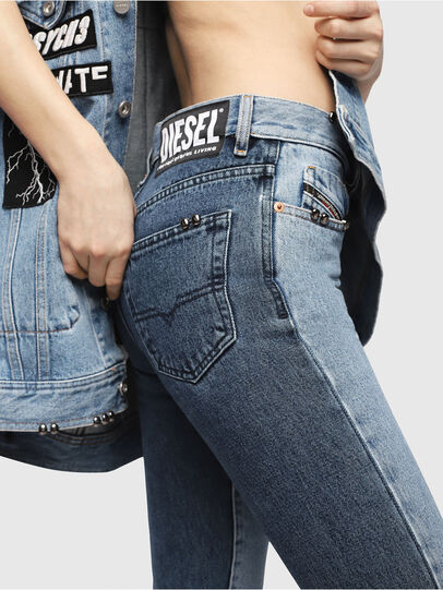 Diesel - Mharky 0077Z,  - Jeans - Image 4