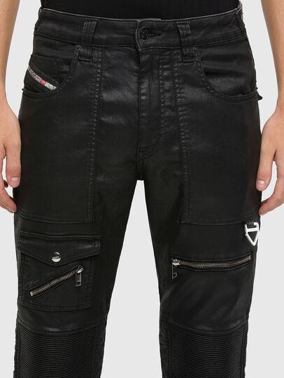 Diesel - D-Derrot JoggJeans® 069QY, Black/Dark grey - Jeans - Image 3