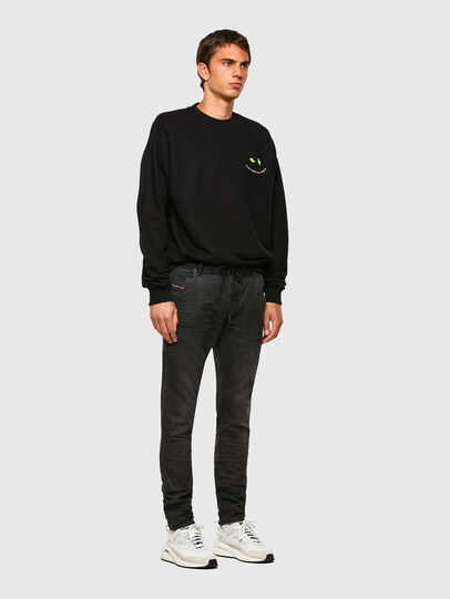 Diesel - KROOLEY JoggJeans® 069QL, Black/Dark grey - Jeans - Image 5
