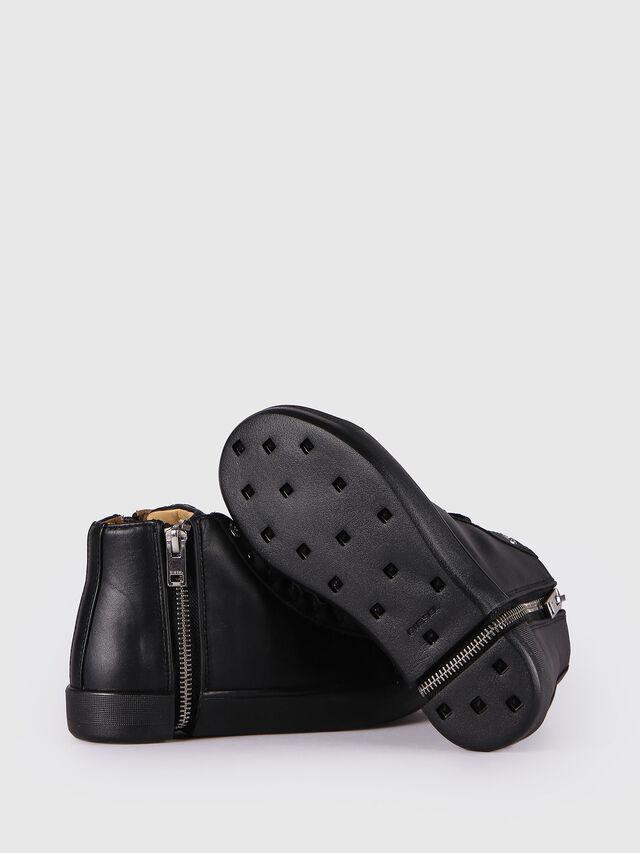 Diesel - SN MID 24 NETISH CH, Black - Footwear - Image 4
