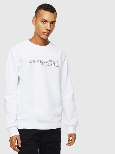 Diesel - S-CORY, White - Sweaters - Image 1