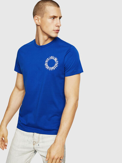 Diesel - T-DIEGO-A12, Brilliant Blue - T-Shirts - Image 1