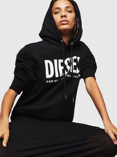 Diesel - F-GIR-HOOD-DIV-LOGO-,  - Sweaters - Image 4