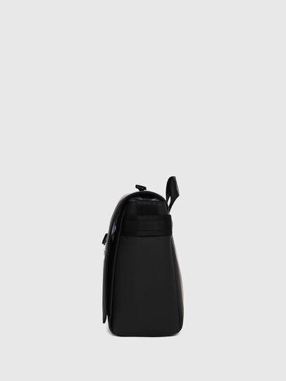 Diesel - F-BOLD MESSENGER II, Black - Crossbody Bags - Image 3