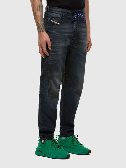 Diesel - D-Skint JoggJeans® 069PE, Dark Blue - Jeans - Image 6