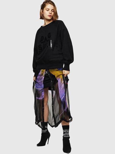 Diesel - F-HENNY-D, Black - Sweaters - Image 5