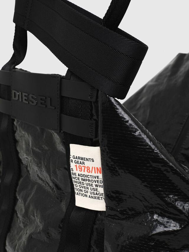 Diesel - D-CAGE SHOPPER, Black - Shopping and Shoulder Bags - Image 3