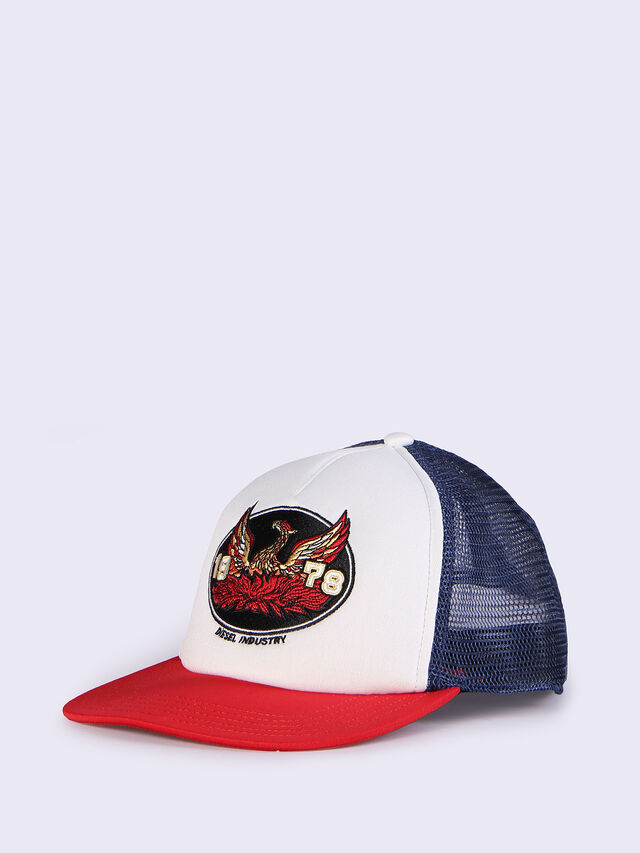 CONPON, White/Red/Blu