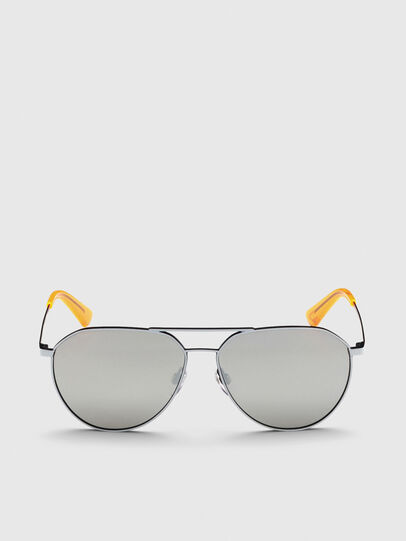 Diesel - DL0296, Grey - Sunglasses - Image 1